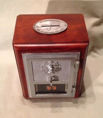 Antique Vintage Post Office Door Mail Box Postal Bank-1961 Federal Equipment Co.