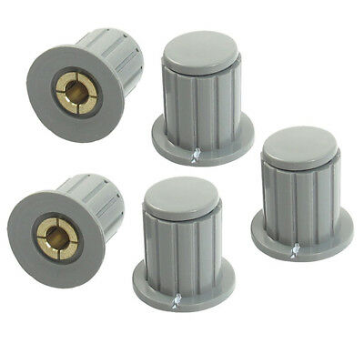 1X(5 pieces 4mm inner potentiometer axis potentiometer control knob knob D5J5)