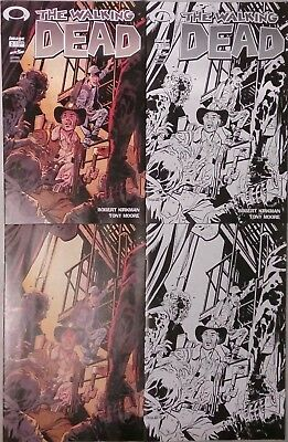 Walking Dead #2 15th Anniversary Day Samnee 4 Cover Set Lot (Image 2018) NEW