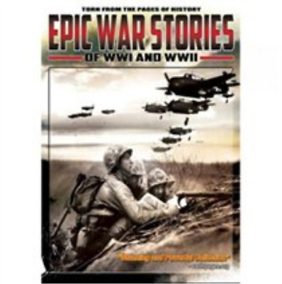 Epic War Stories of WWI and WWII DVD NEW