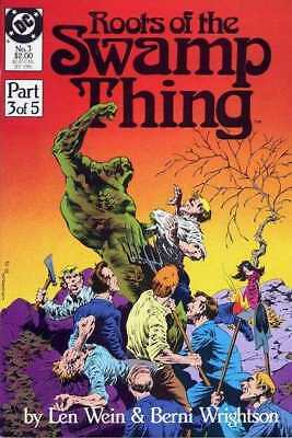 Roots of the Swamp Thing #3 in Near Mint minus condition. DC comics