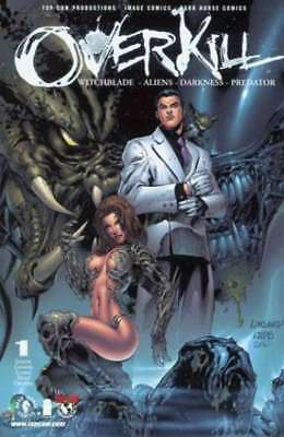 Overkill: Witchblade / Aliens / Darkness / Predator #1 in NM. Dark Horse comics