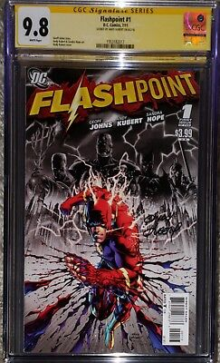 Flashpoint #1 CGC 9.8 signed by Andy Kubert