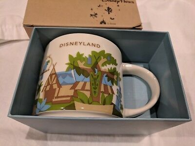 Disney Parks Disneyland Adventureland You Are Here Starbucks 14 oz Coffee Mug