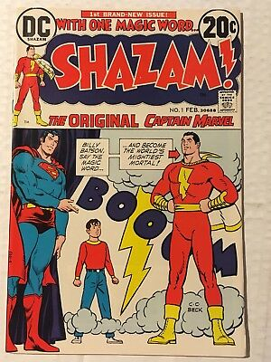 Shazam! #1 NM/VF, (Feb 1973, DC), Movie, HOT