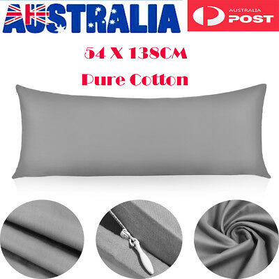 VORCOOL Body Pillow Cover Pure Cotton Safe Pillow Case For Maternity Pregnancy