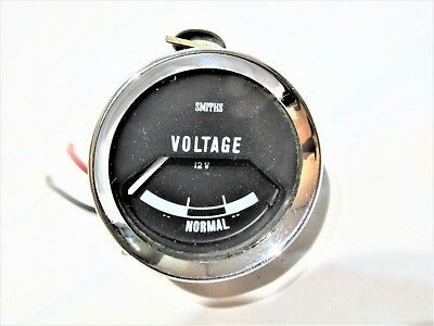 Vintage Smiths Volts  Battery Condition Gauge Fits Mini Mk1 Cooper S Bmc Lotus