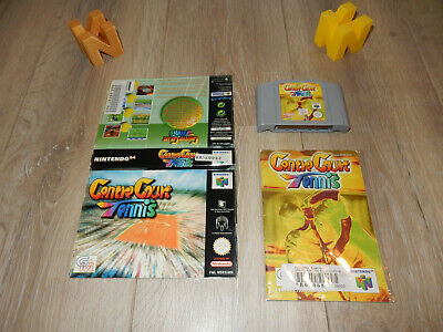 PAL N64: Centre Court Tennis with Manual and Cut Out Box (ex-rental) Nintendo 64