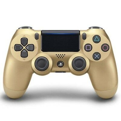 Official PlayStation 4 PS4 Dualshock 4 Wireless Controller ( Gold ) NEW