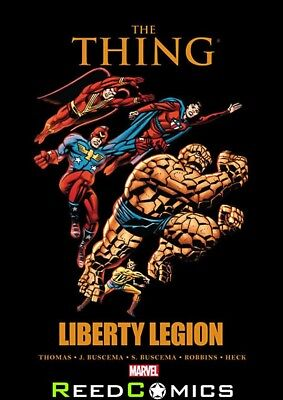 THING LIBERTY LEGION HARDCOVER (168 Pages) New Hardback