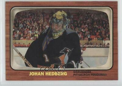 2002-03 Topps Heritage #56 Johan Hedberg Pittsburgh Penguins Hockey Card