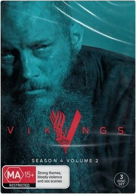 """VIKINGS: Season 4, Volume 2"" DVD, 3 Disc Set - Region [4] BRAND NEW"