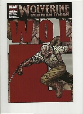 Wolverine Old Man Logan Connecting Puzzle Variant Set # 66-70 71 72 Giant Lot 16