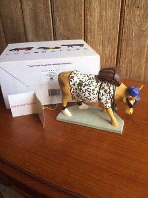 Cow Parade Retired Chicago Original 9 Out Of Cow Towner