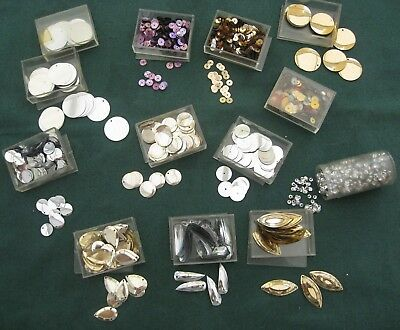 Sequins Shapes Beads 13 Packs Set F Assorted Craft Sewing Dancing Costume