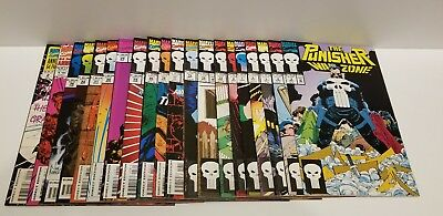 The Punisher: War Zone 20 Issue lot (May 1992, Marvel) High Grade