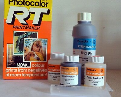 Photo Technology Ltd; PHOTOCOLOR RT room temp. Colour processing kit