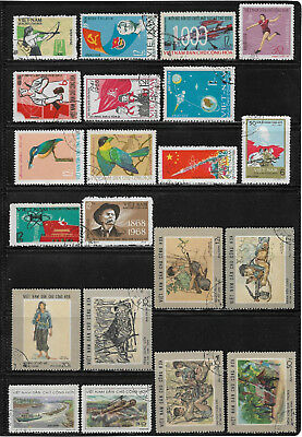 Vietnam - Nord, o/used Sammlung/Collection 1966 - 1974, 3 Scans !