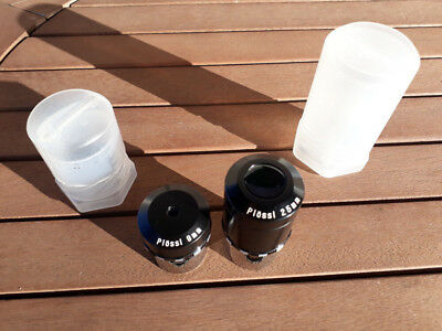 9mm and 25mm Zebra Plossl Eyepieces - Made in Japan ( Nihon Seiko )