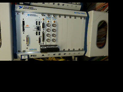 National Instruments NI PXIe-1062Q mit NI-PXIe-8105 + PXI-4461 + PXI-4462