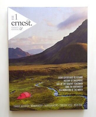 ERNEST JOURNAL ISSUE VOLUME # No 1 RARE Out of Print ADVENTURE MAGAZINE