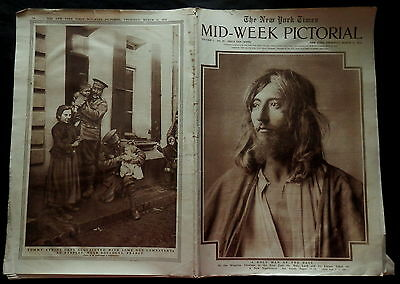 NEW YORK TIMES Mid-Week Pictorial March 11 1915 Vol. 1 No. 27 WWI EUROPE