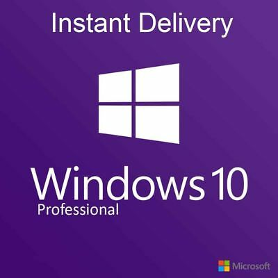 Windows 10 Pro Professional 32/ 64-bit Activation License Key Win Schlüssel Code