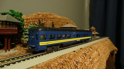 HO Scale New CN VIA RAIL  Mount Gordon Observation Passenger Car  Lot E 10