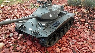 RC Panzer Walker Bulldog M41 3839-1 Rauch und Sound  HENG LONG 1:16