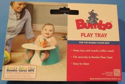 NEW ~ BUMBO PLAY TRAY ~ FOR THE BUMBO FLOOR SEAT (Not Included) ~ NEW
