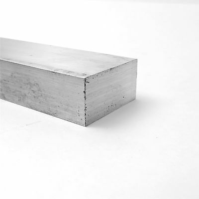 "1.25"" x 2.5"" Aluminum Solid 6061 FLAT BAR 24""Long mill stock Pieces 1 sku A131"