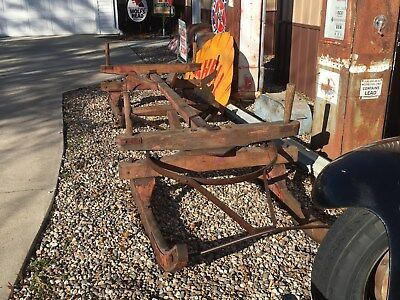 AnTiQuE Horse Drawn Utility SLEIGH Carriage Buggy Wagon YaRd ArT Garden Old COOL