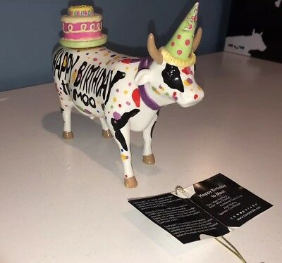Cows on Parade.  Happy Birthday to Moo with tag and original box