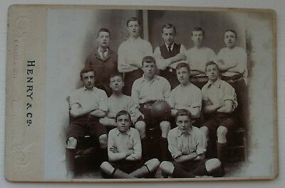 Football Cabinet Card Northampton by Henry & Co