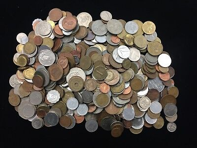 World Coins-Mixed Lot of 5 lbs