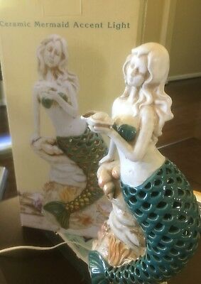 New ceramic mermaid lamp light sold out