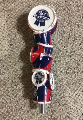 BRAND NEW - Pabst Blue Ribbon PBR Music Art Tap Handle