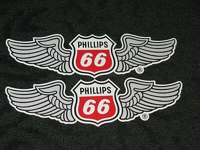 Wing Phillips 66 Aviation Sticker Decal Jet Fuel Gasoline Airplane Oil 11