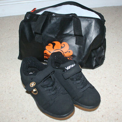 HEELYS X2 SIZE UK 2 IMMACULATE CONDITION with BAG