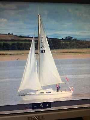 Hurley 22 family sailing yacht 4 berth excellent condition