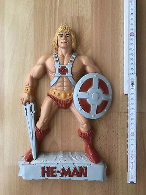 Motu Masters of the Universe He Man 3D Wall Decoration  1984