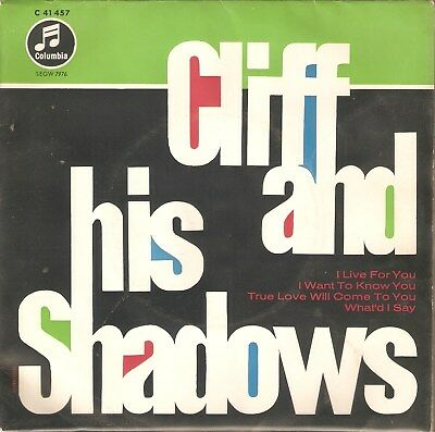 cliff richard and the shadows:  cliff and his shadows(ep)