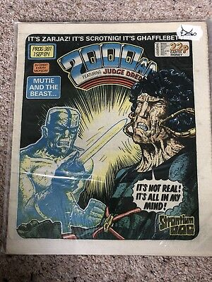 2000 AD #381 - 390 Very Good Condition