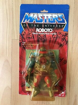 Motu Masters of the Universe Roboto  Ovp Moc 1984  mint sealed