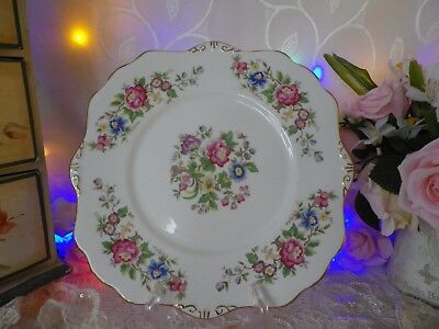 """Vintage Royal Stafford """"Rochester"""" Cake Plate, Square, Good Condition"""