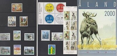 2000 Aland Year Pack MNH Face approx £10
