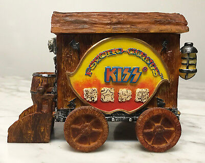Vintage Kiss 1998 Spencers Gifts Superstar Signature Psycho Circus Wagon Box