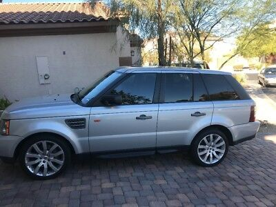 2008 Land Rover Range Rover Sport  2008 Range Rover Supercharged Sport