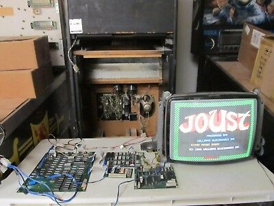 William's Joust arcade game board set repair service