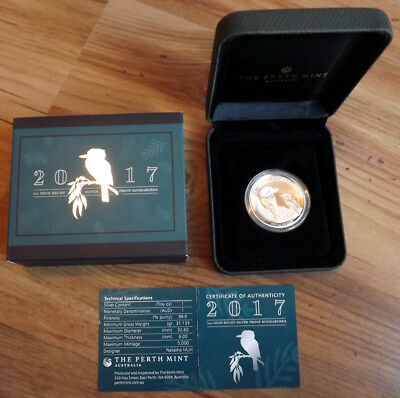 2017 Australian 1oz High Relief Kookaburra .999 Silver Proof Coin. Others listed